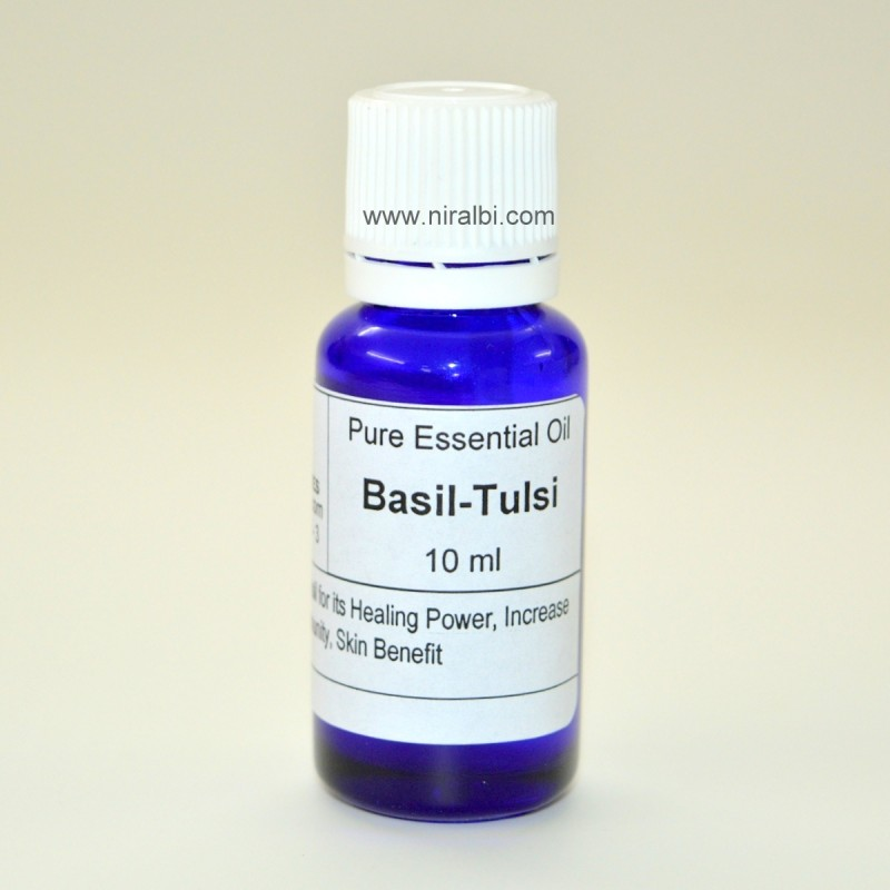 Basil Tulsi FragranceOil for Soap, Shampoo, Creams Daily use