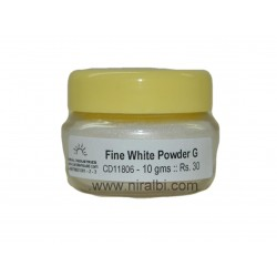 Fine White Powder Glitter. Buy Online Huge Range and Collection
