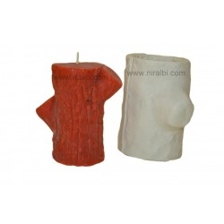 SL202 Tree Wood Candle Mould