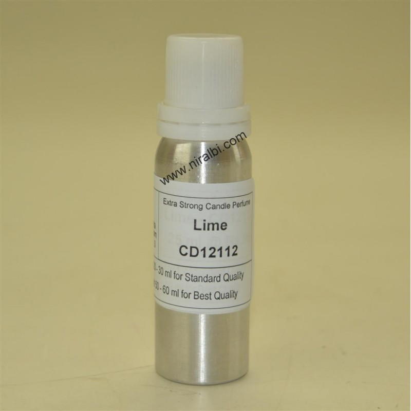 Lime Candle Perfume, Fragrance Oil, Niral Industries