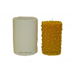 Bubbles Thick Large Silicone Candle Mould