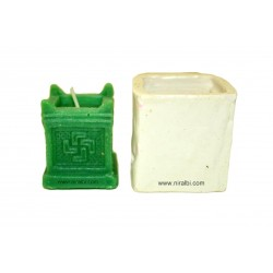 Tulsi Kyaro Pillar Silicone Candle Mould, Homemade, Crafts, Hobbies,