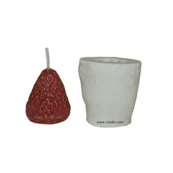 Strawberry Pillar Candle Mould - Niral Industries