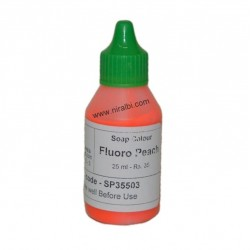 Fluoro Peach Soap Colour 25 ml - SP35503 Niral Industries