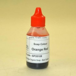 Orange Red Soap Colour 20ml - SP35108 Niral Industries