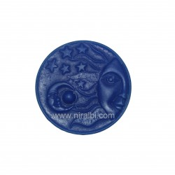 Sun Moon Star Silicone Soap Mould, Niral Industries, Soap Wt - 72 gm