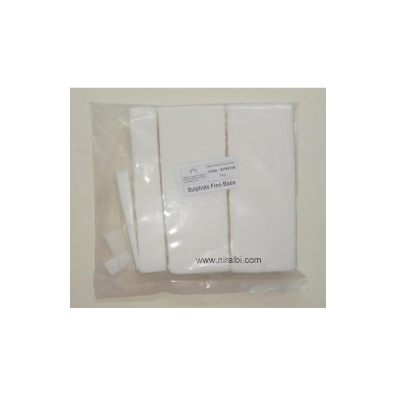 Sulphate Free Soap Base (White) 1 kg