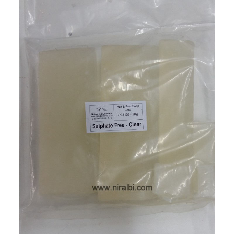 Sulphate free clear soap base 1kg
