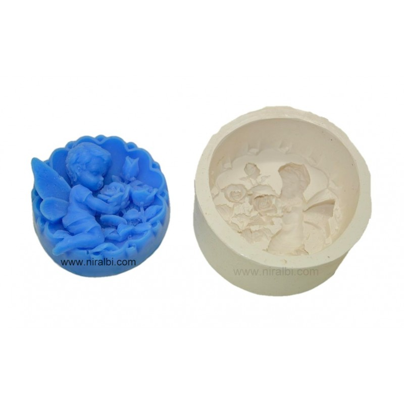 Sleeping Angel Silicone Soap Mould