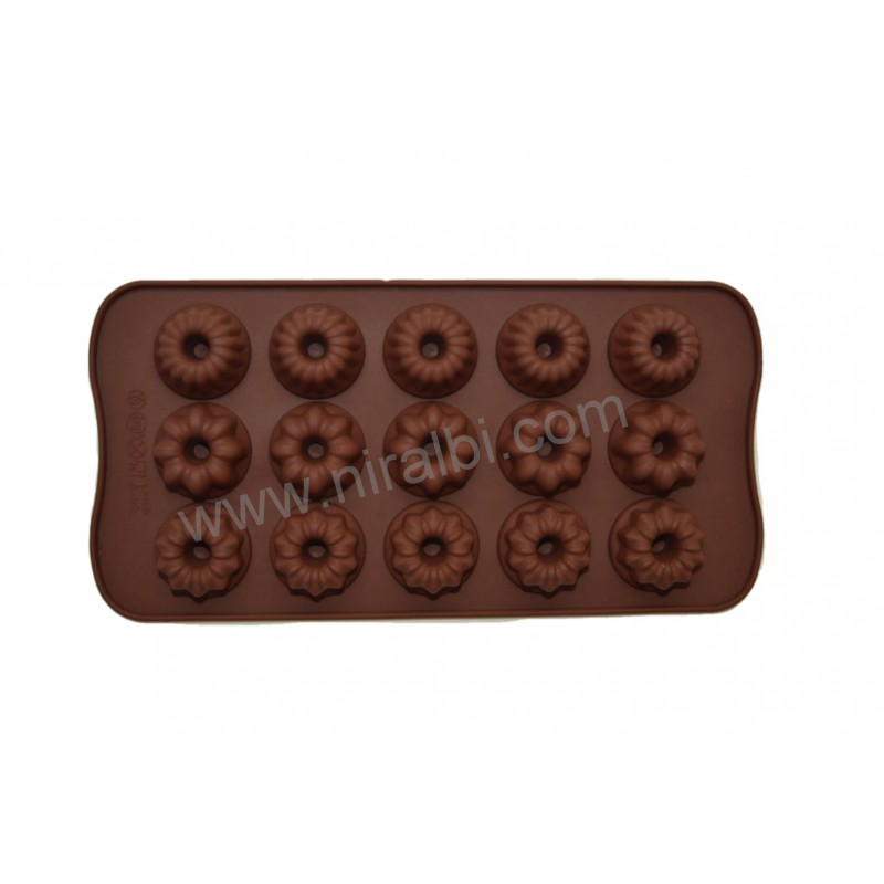 Different Flower Chocolate Mould