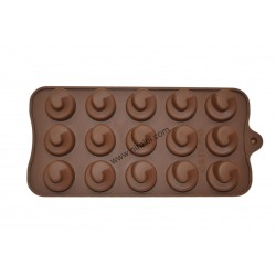 Swirl Twirl Chocolate Mould, Niral Industries