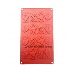 Love And Heart Niral Chocolate Mould