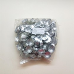 Silver Containers (100 pcs) 38 x 15