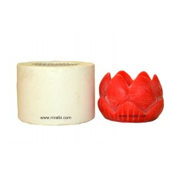 Extra Large Lotus Candle Mould Niral Industries, Wt - 170 gm