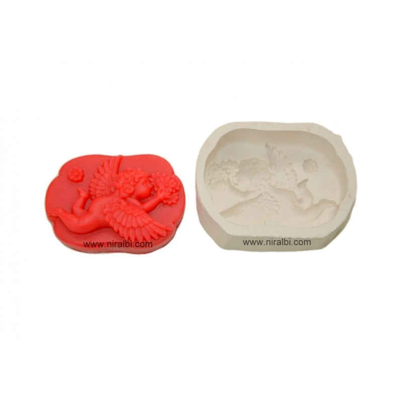 Flying Angel Silicone Soap Mould