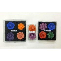 Niral Handmade Rubber Sunflower Candle Mould