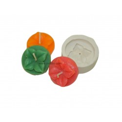 Niral Flower T Light Candles Mould - 12 gm Candle