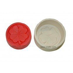 Leaf Design Silicone Soap Mould
