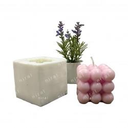 Leaf Design Silicone Soap Mould