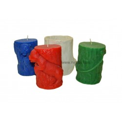 Niral Tiger in Woods Candle, Silicone Mould