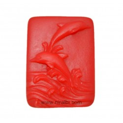 Cute Dolphine Rubber Soap Mould