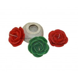 Niral Beautiful Rose Flower, Floating, Craft Silicone Rubber Molds