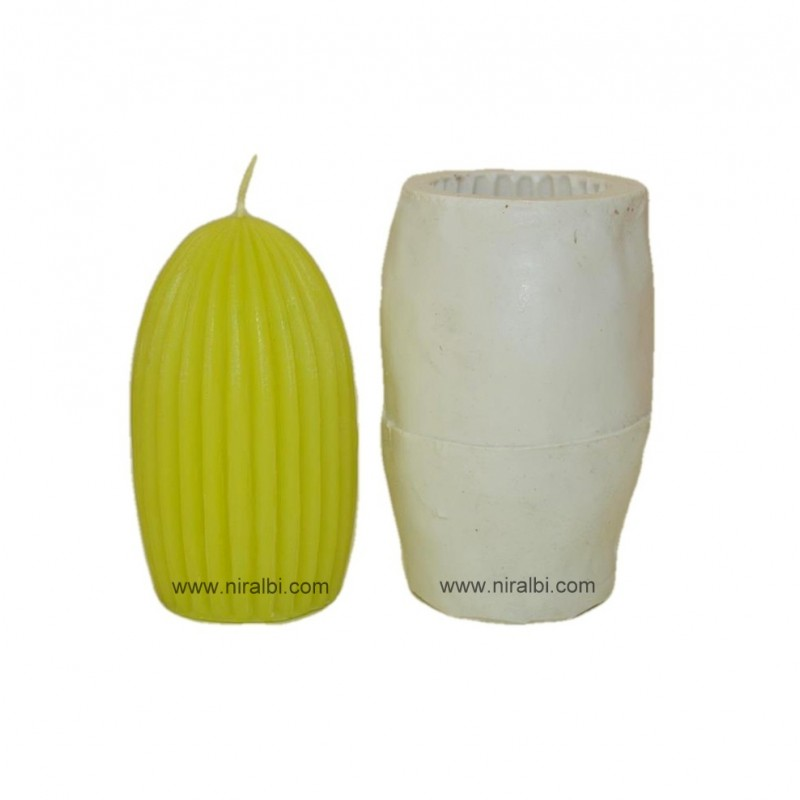 Designer Pillar Silicone Candle Mould