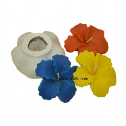 Niral Industries Flower Floating Silicone Candle Mould