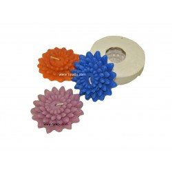 Niral Industries, Sunflower Silicone Rubber Candle Mould 32 gm