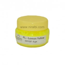 Fluoro Lemon Yellow Candle Colour - CD11327 Niral Industries