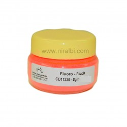 Fluoroscent Candle Colour Peach