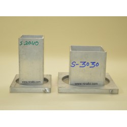 Square Aluminium Candle Mould Combo (S2040, S3030)