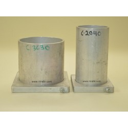 Cylindrical Candle Making Mold Combo (C2040, C3030)