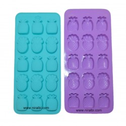 Pineapple Shape Silicone Soap And Chocolate Making Mold