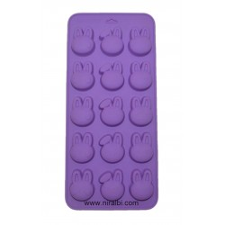 Niral Small Kitty Face Silicone Rubber Mold