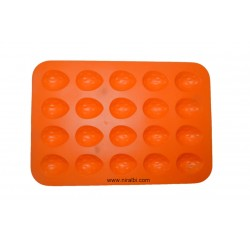 Strawberry Shape Mold For Making Candies, Chocolate And Soap