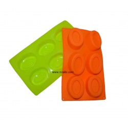 Niral Double Oval Tray Type Soap Mold
