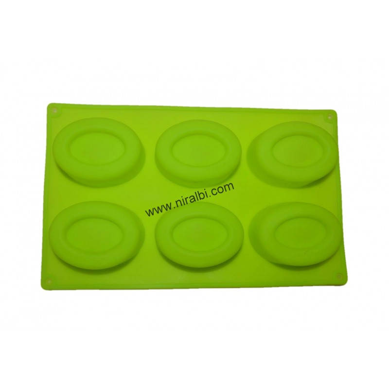 Niral Double Oval Soap Mold