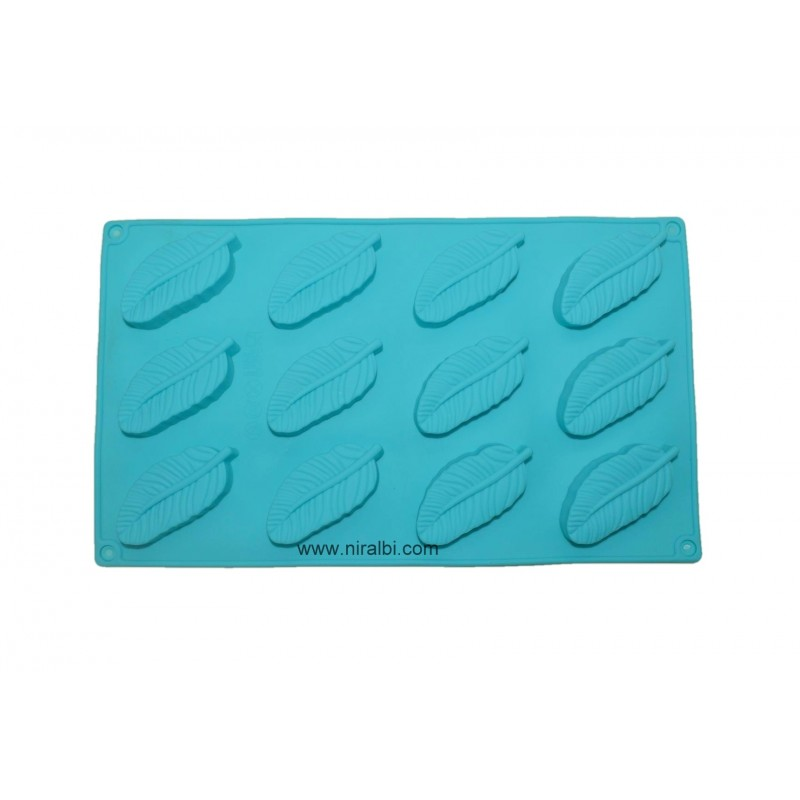 Feather Shape Silicone Rubber Mould, Niral Industries