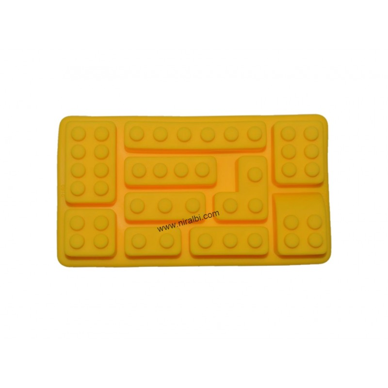 Small Lego Design Mold For Making Soap And Chocolate