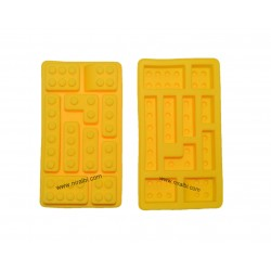 Small Lego Design Mold For Making Soap