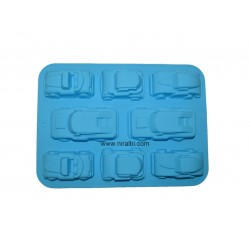 Designer Car Silicone Rubber Soap Mould, Niral Industries
