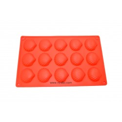 Shell Shape Rubber Soap And Chocolate Making Mold, Niral Industries