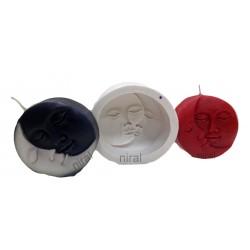 Designer Flower Rubber Soap Mould