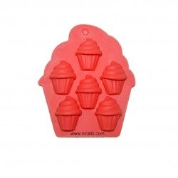 Niral Small Cup Cake Silicone Chocolate And Soap Mould, SP32236
