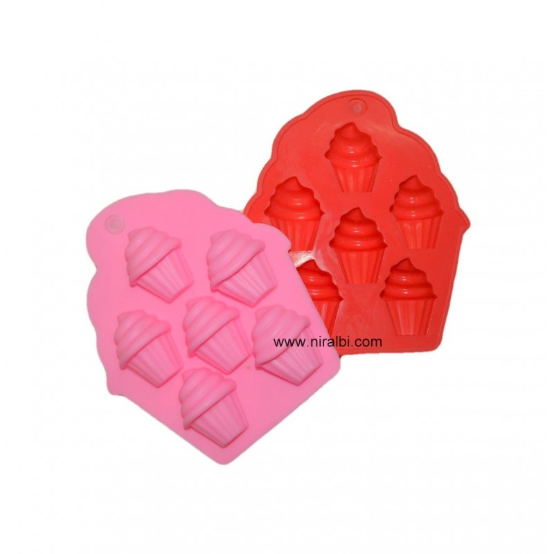 Niral Small Cup Cake Silicone Chocolate And Soap Mould