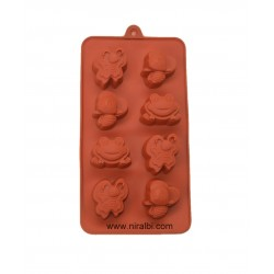 Frog, Bee And Butterfly Silicone Mold For Chocolate And Soap Making