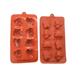 Frog, Bee And Butterfly Silicone Mold, SP32229