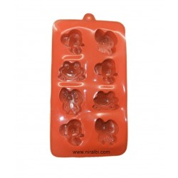 Silicone Mold For Making Cup Cake, Soap And Chocolate