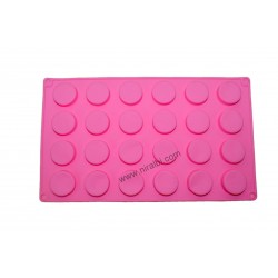 Small Round Shape Soap Making Mold, Niral Industries